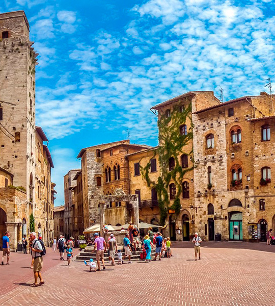 Йога-тур в Италию