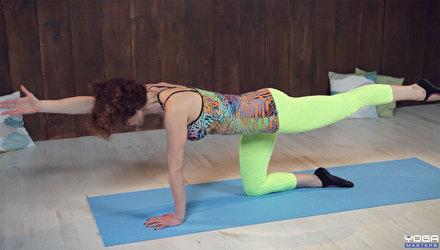 Упражнения для стабилизации таза и внутренних органов